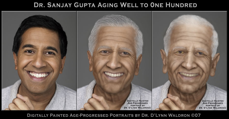 AGE-PROGRESSED AND AGE-REGRESSED PORTRAITS by D'Lynn Waldron